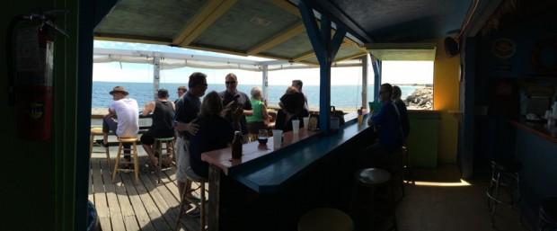 Inside the Ocean Mist Bar & Grill