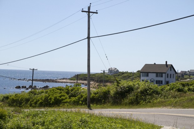 Curvy Road - Block Island